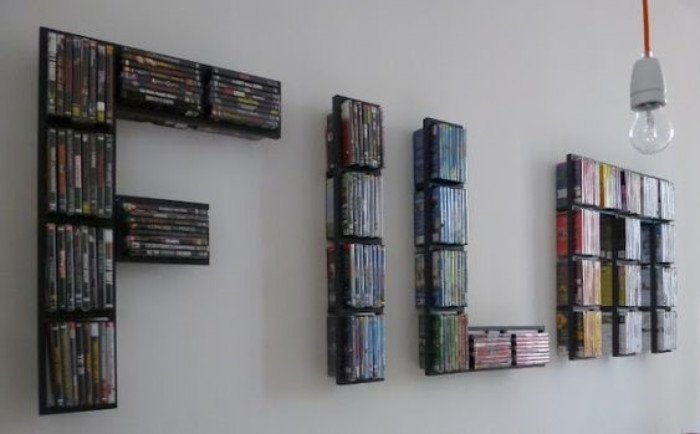 DVD storage ideas