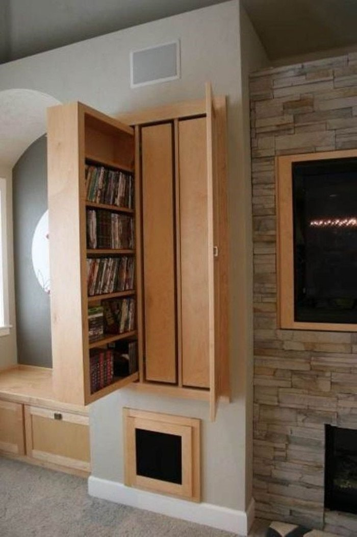 living room storage
