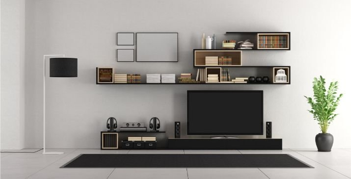 Modern Wall Units For Living Room