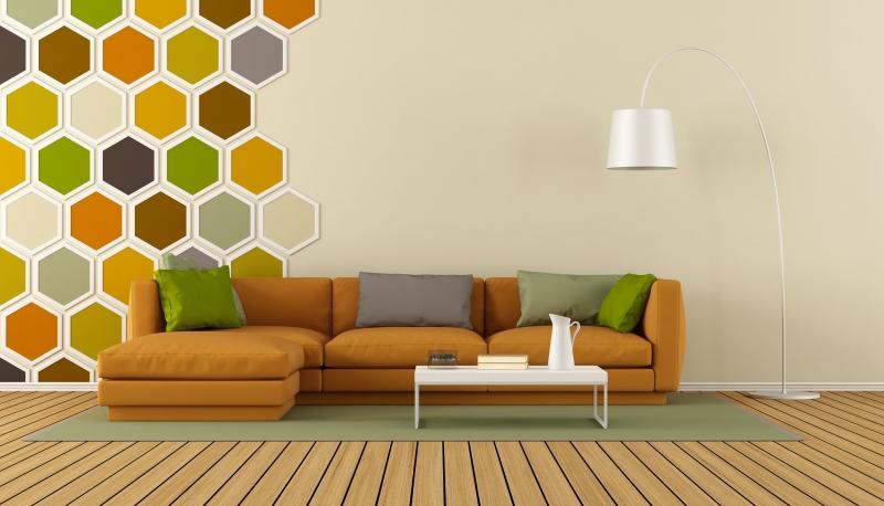 living room for fall