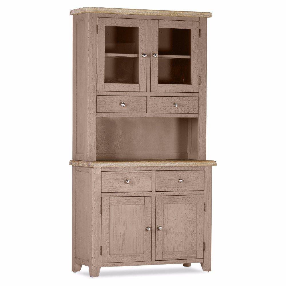 Buy Oak Scotia 2 Door 2 Drawer Sideboard Plus Hutch Online