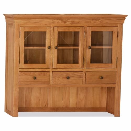Buy Oak Orland Large Hutch New Design Online
