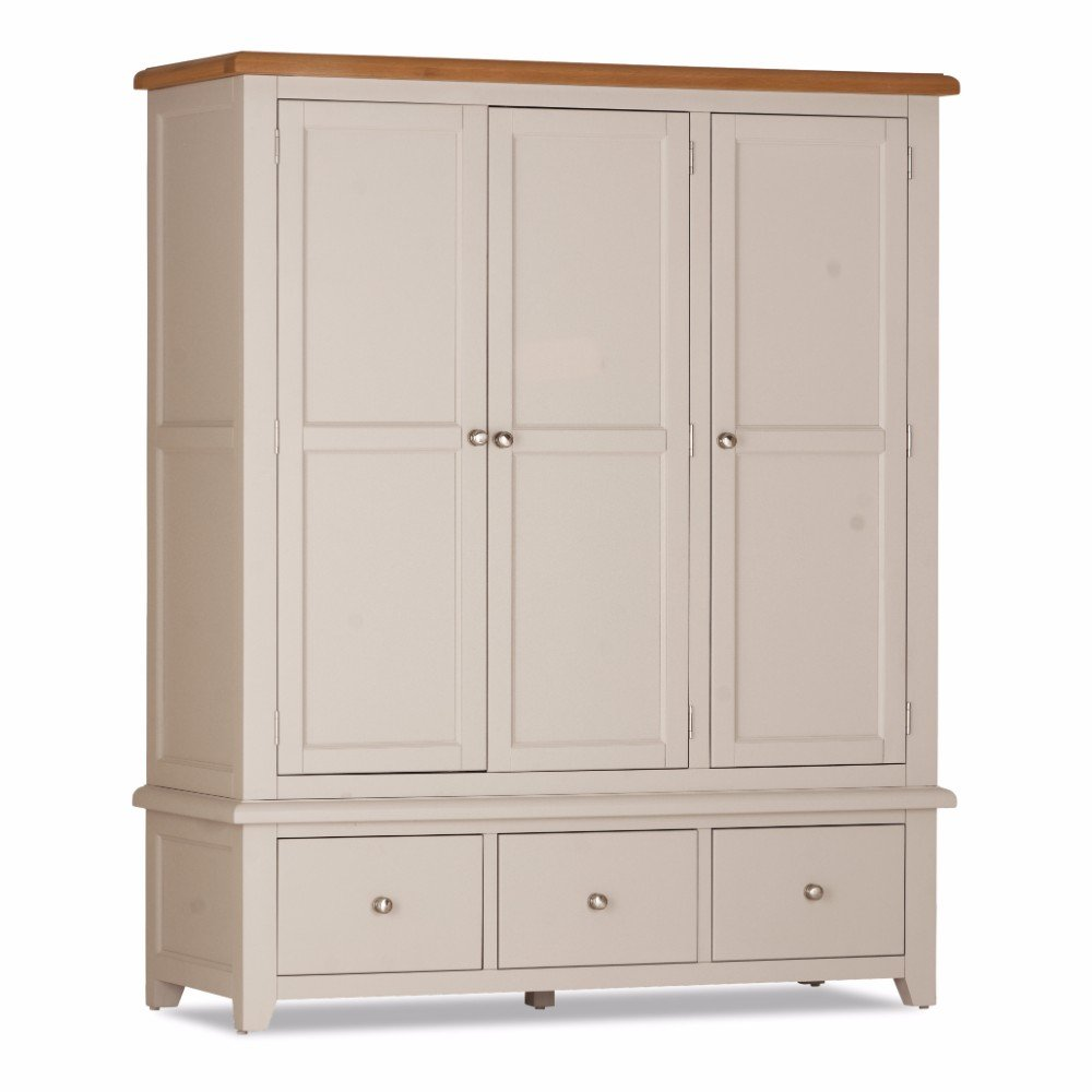 Stunning Bedroom Vinton Triple Wardrobe