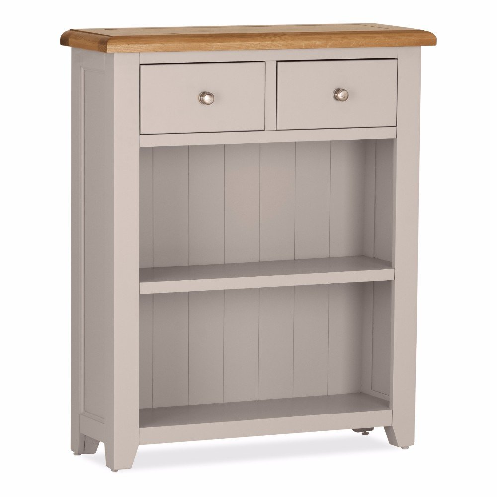 Vinton Low Bookcase 2 Drawers