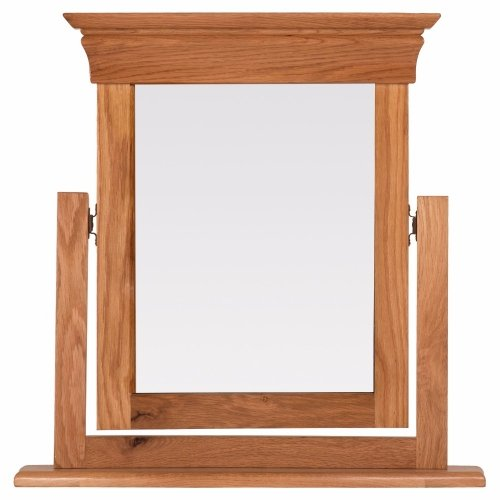 Amazing Doral Oak Dressing Table Mirror Online