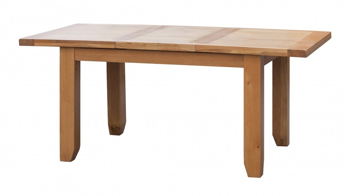 Buy Oak Acorn Solid Oak Extending Table Small Online