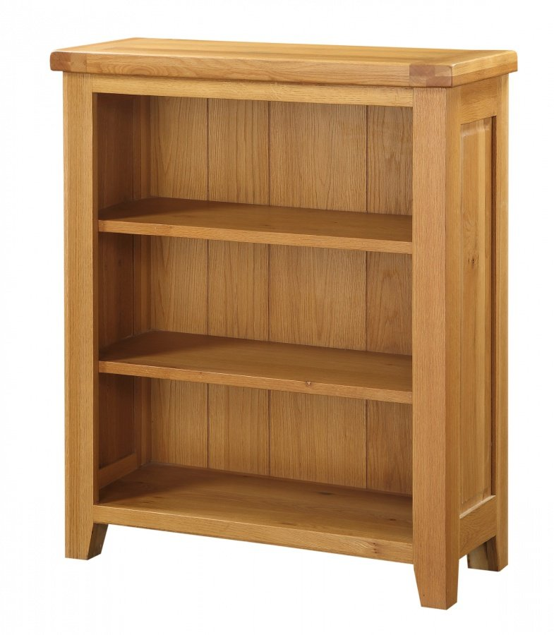 100% Solid Cheap Oak Acorn Solid Oak Bookcase Small