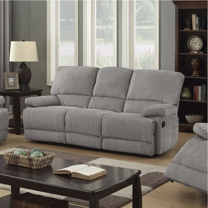 Great Discount on Berwick Recliner Fabric 3 Seater | Oak Furniture Online