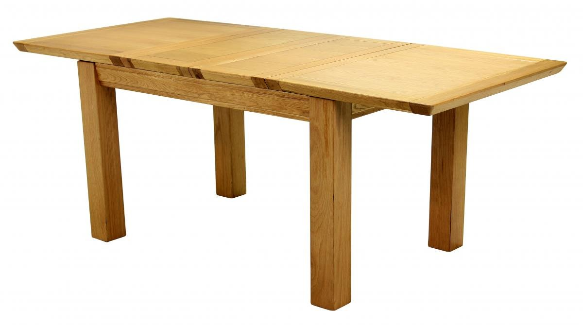 Oak Rectangular Breton Extending Dining Table Large Online