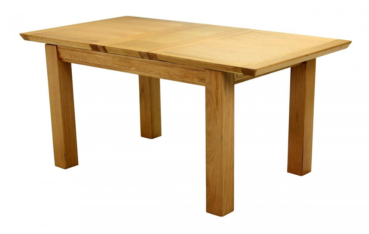 Buy Oak Breton Extending Dining Table Medium Online