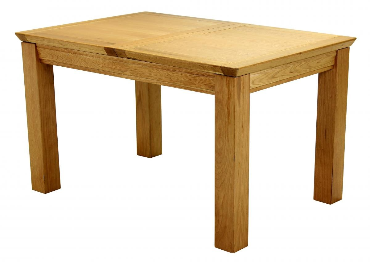 Buy Oak Breton Extending Dining Table Small Online