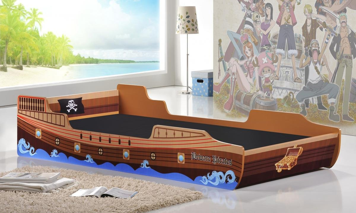 Amazing Caribbean Pirate Ship Bed Single Online