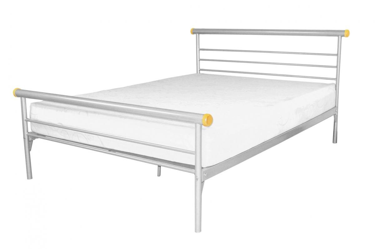 Amazing Celine Bed Double Silver Online