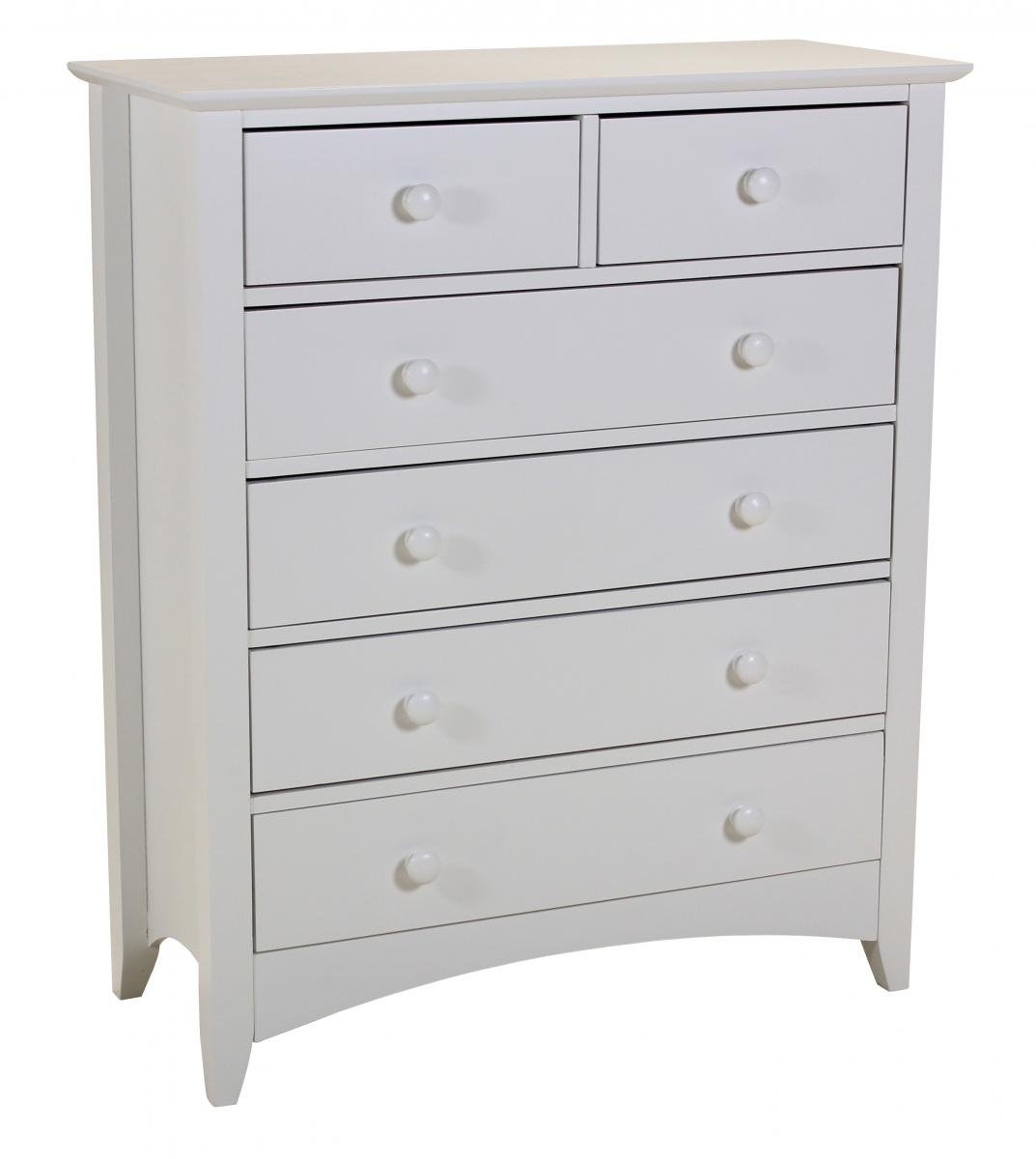 Cheap Chelsea White Chest 4+2 for your Bedroom