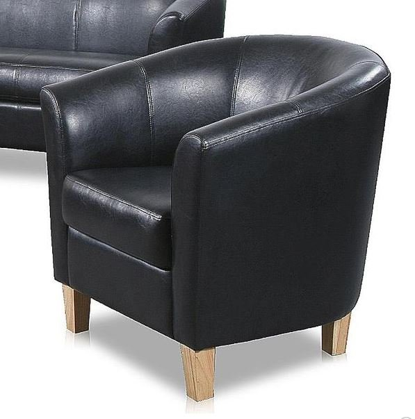 Great Discount on Claridon 1 Seater Sofa PU | Oak Furniture Online