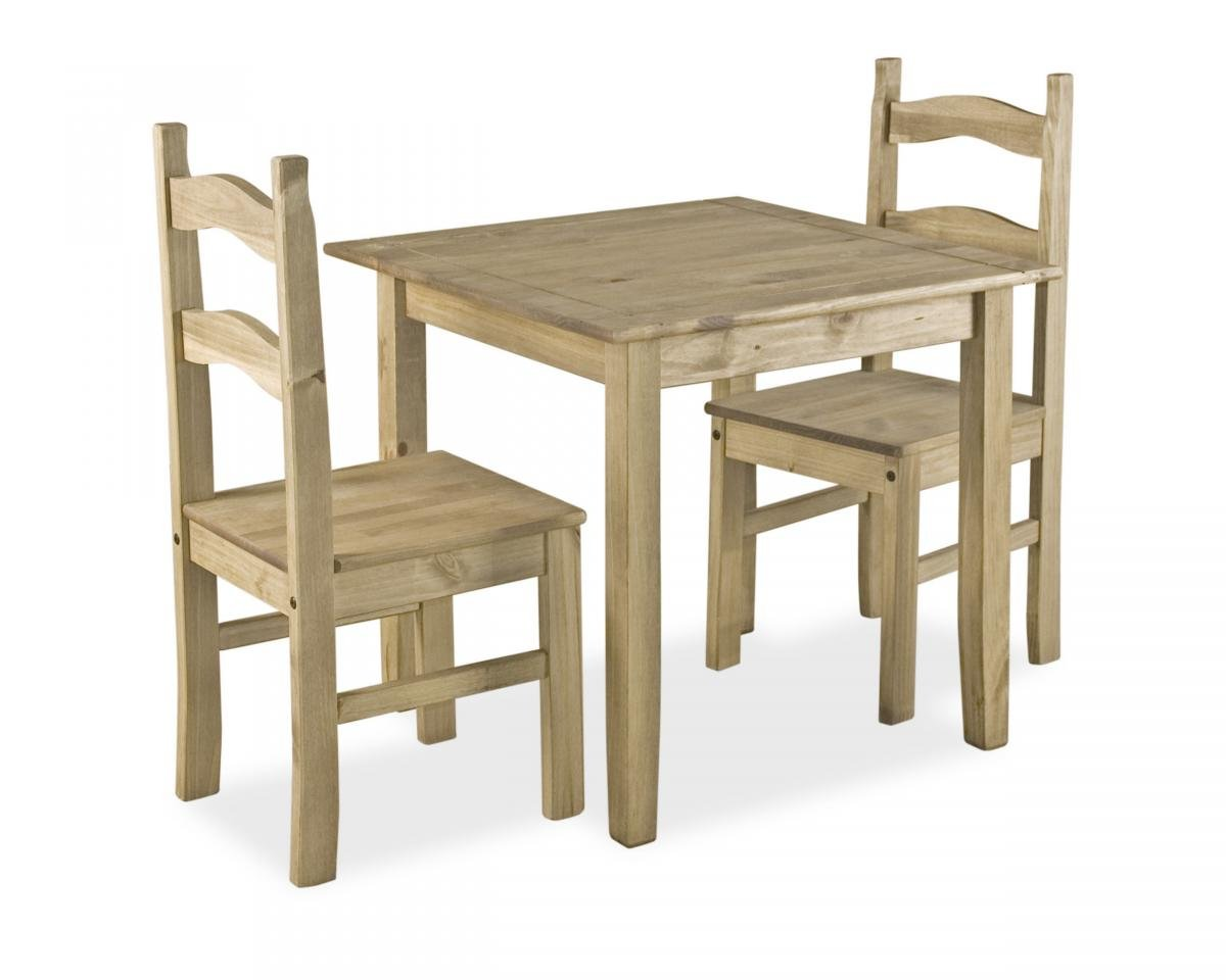 Coba Small Mexican Dining Set with 2 Chairs | Mexican Dining Collection