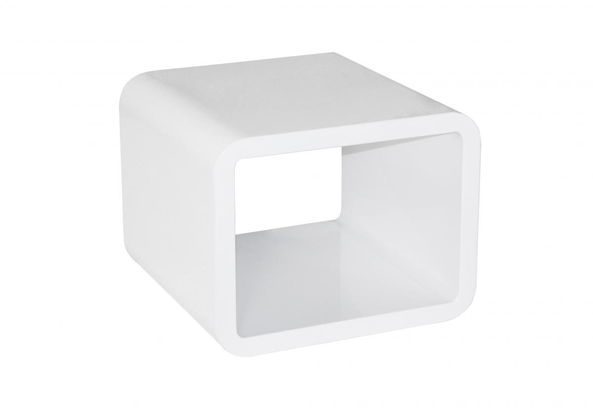 Best price online on Condor High Gloss Lamp Table White | Furniture Villa