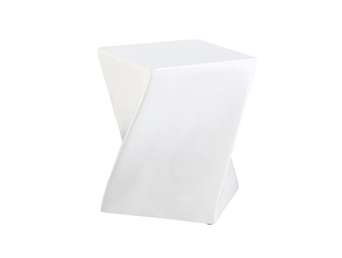Best price online on Connor High Gloss Lamp Table White | Furniture Villa
