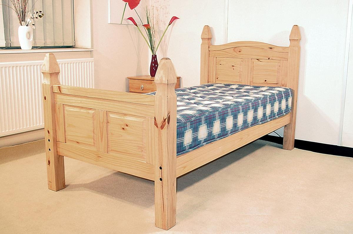 Corona Bed King Size High Footend