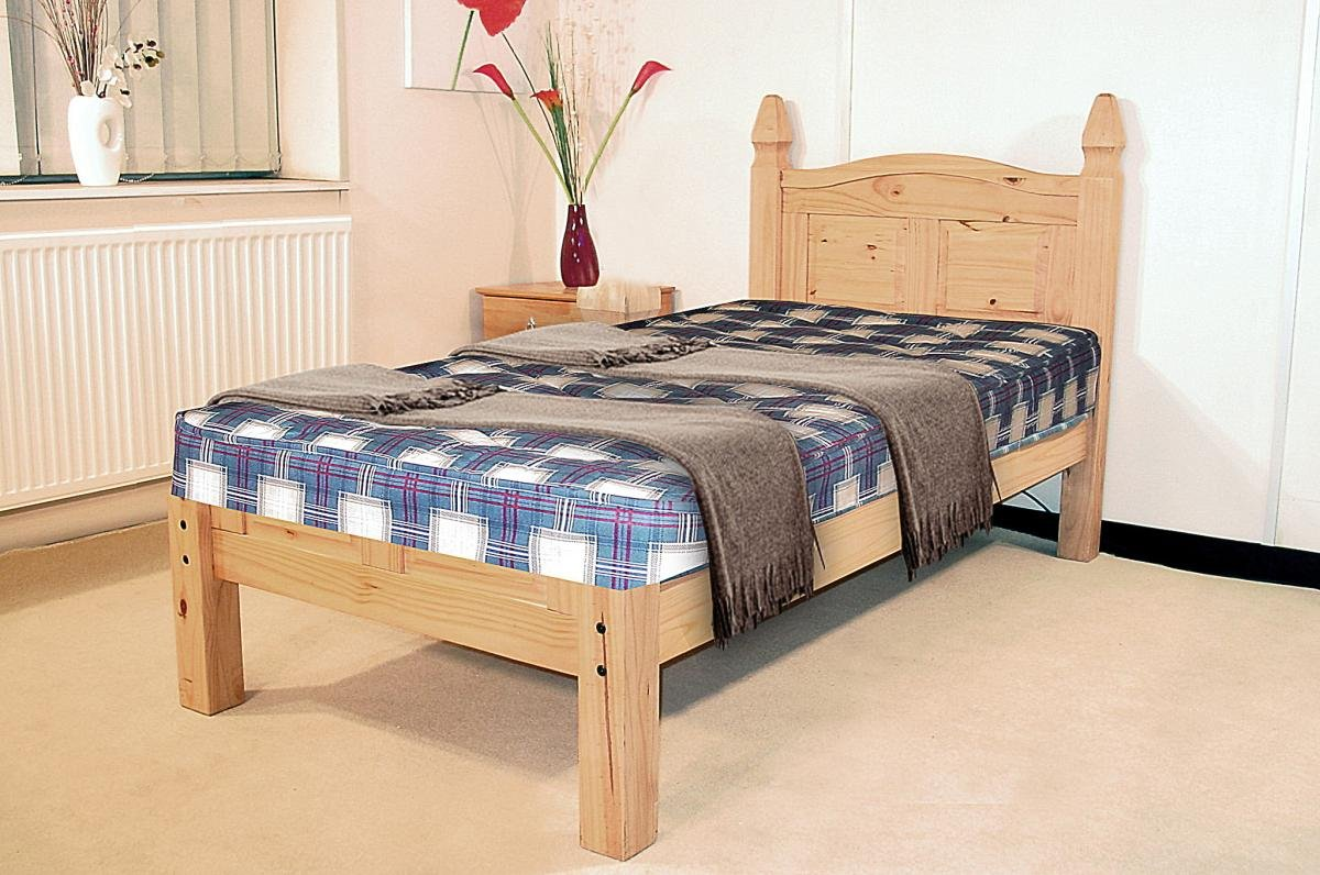 Corona Bed King Size Low Footend
