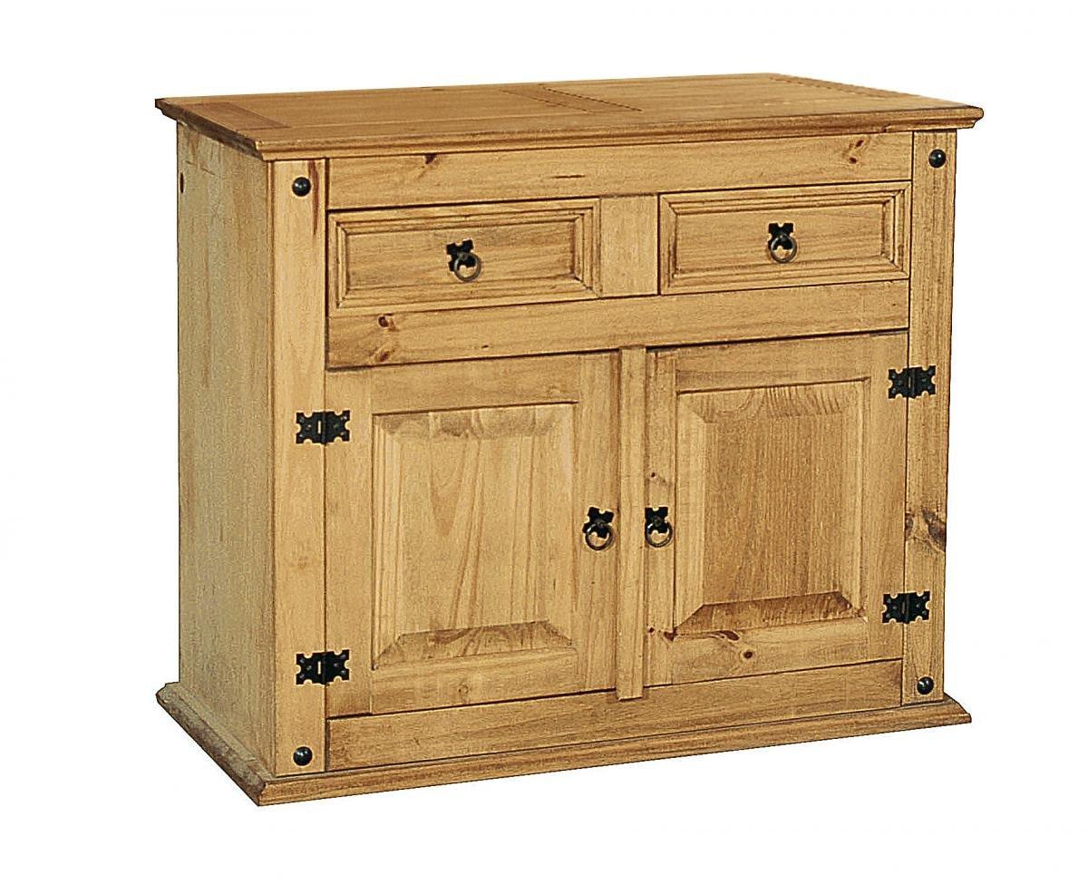 Discounted Corona Buffet 2 Doors&2Draws | Oak Furniture Online