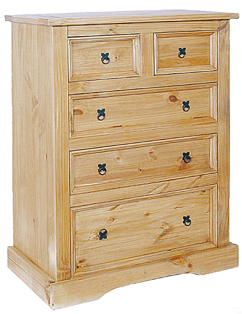 Cheap Corona Chest 3+2 Draw Wide for your Bedroom