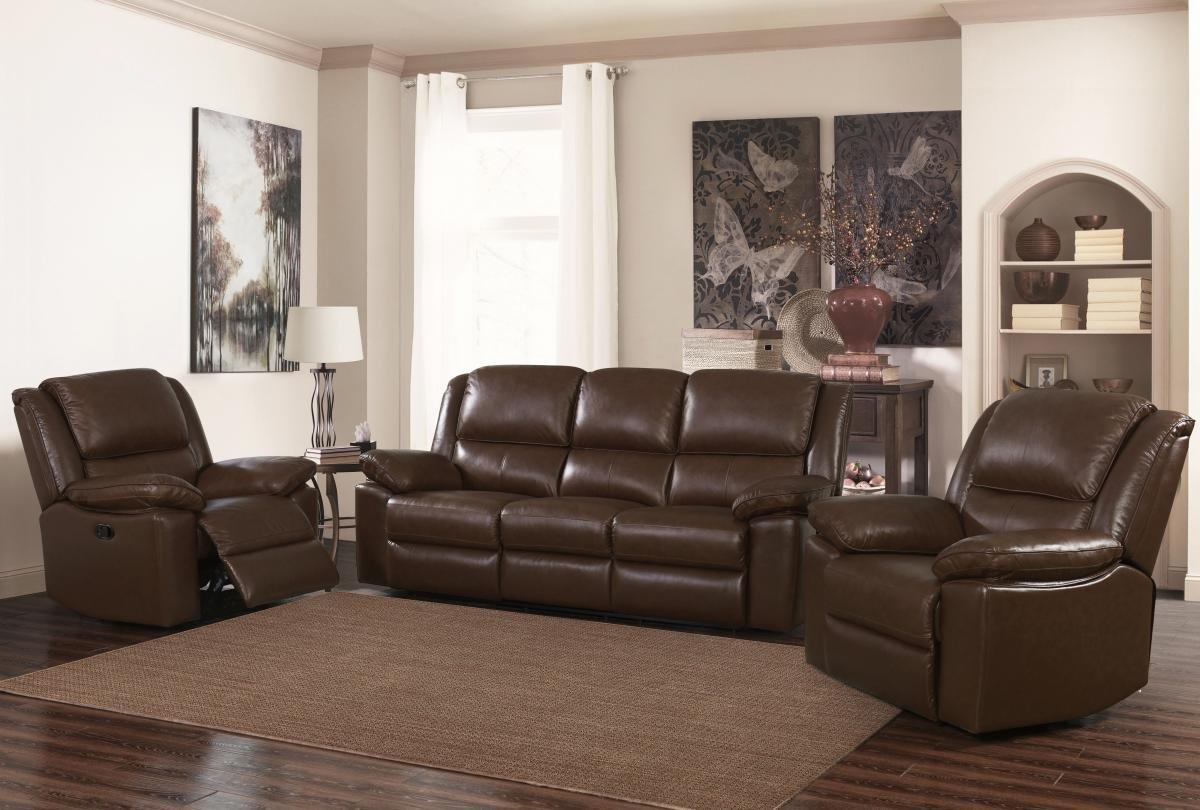 3 Seater Sofa | Black Leather Sofa | Toledo Recliner Leather