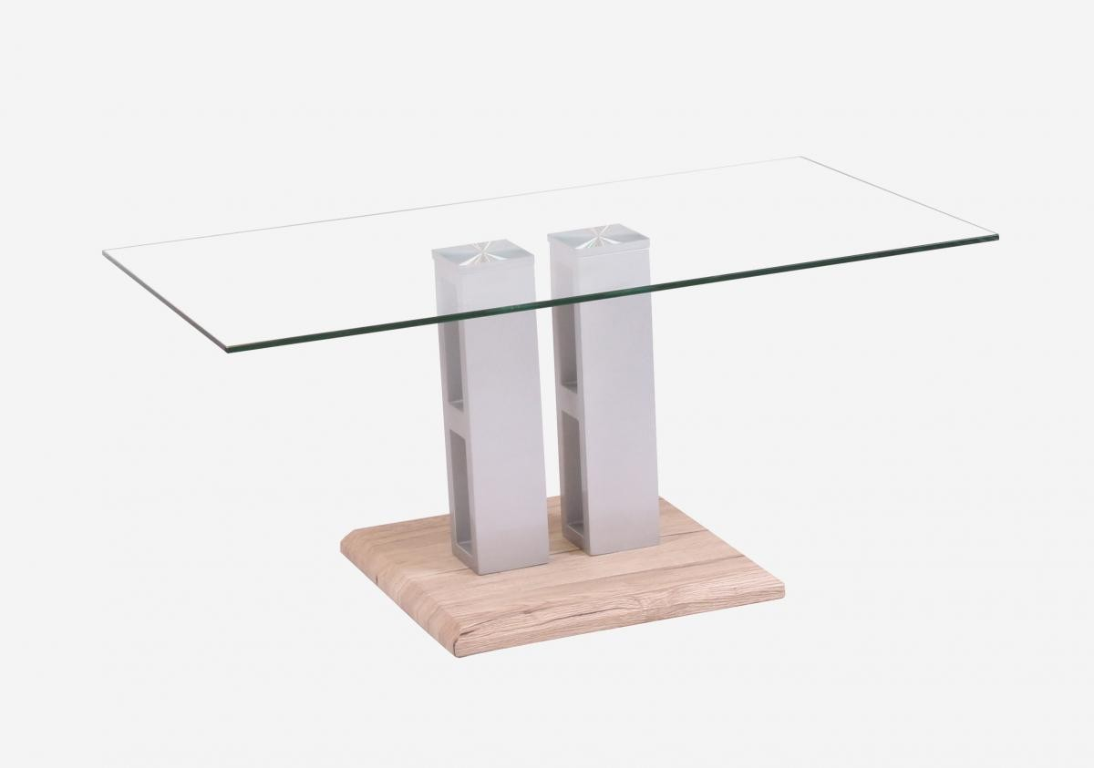 Remarkable Winnie Glass Coffee Table Grey Natural Home Interior And Landscaping Ferensignezvosmurscom