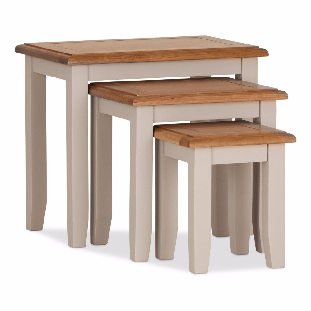 Buy Oak Vinton Nest of Tables Online