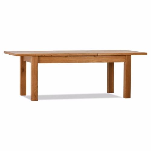 100% Solid Oak Orland Large Extension Table | Furniture Villa Online