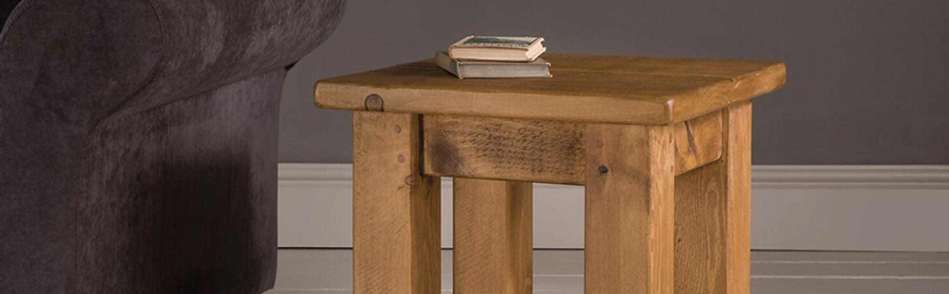Oak Lamp Table Furniture